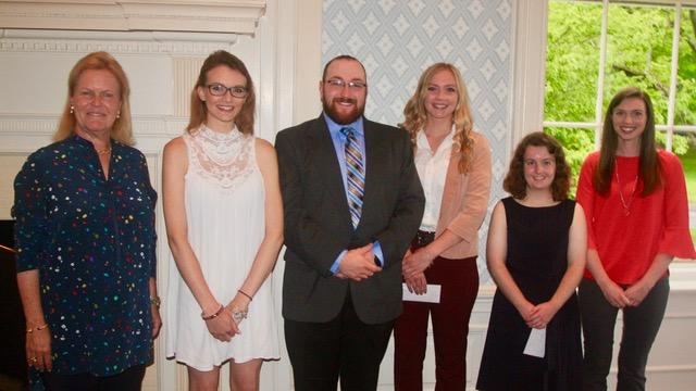Cooperstown Leadership Scholarship Reception - Jane Forbes Clark, Kristen Lansing, Christopher Harloff, Ellen Vibbard, Molly Mooney and Sarah Dewey.