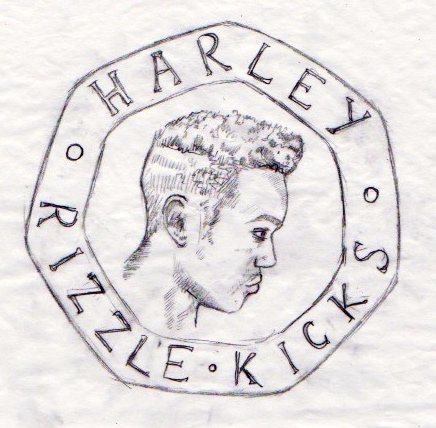 Harley Coin Drawing. 2013.