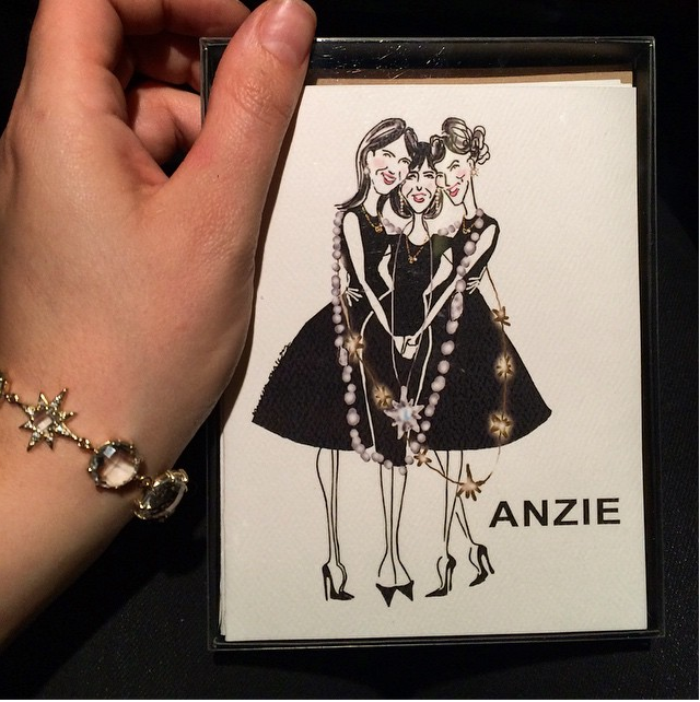 Anzie Jewelry (custom cards) | 2015
