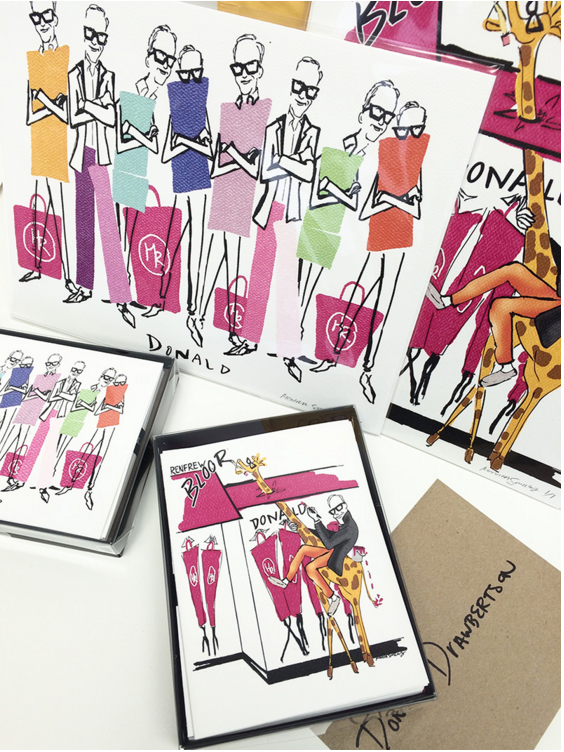 Donald Drawbertson (custom cards) | 2015