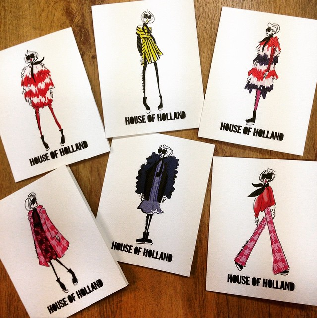 House of Holland (custom cards) | 2015