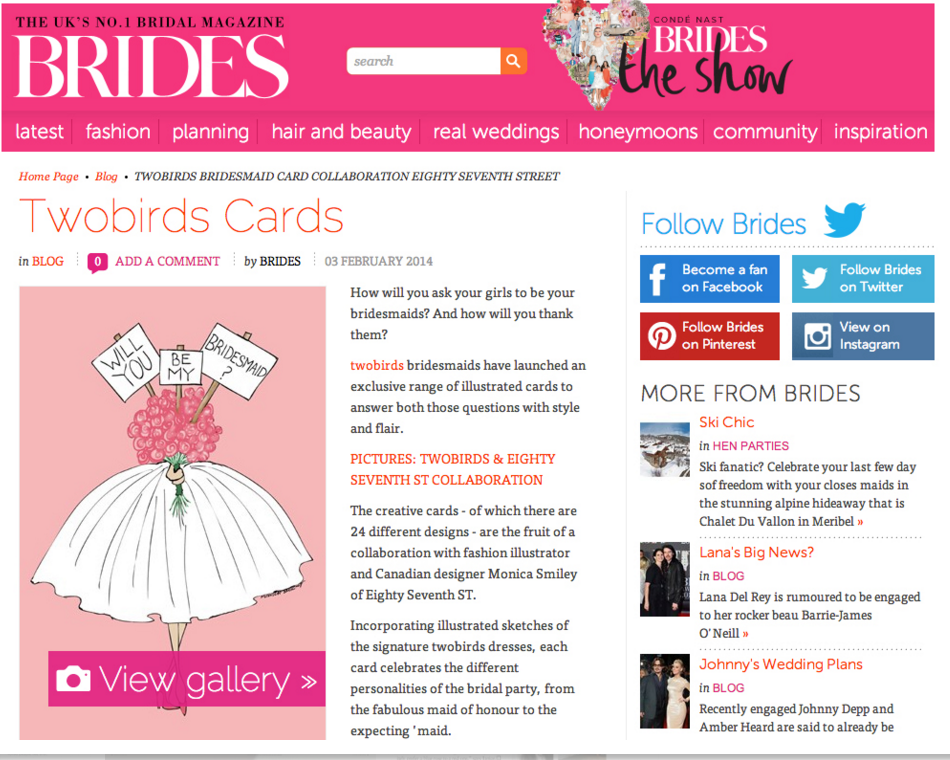 Condé Nast Brides | January 2014