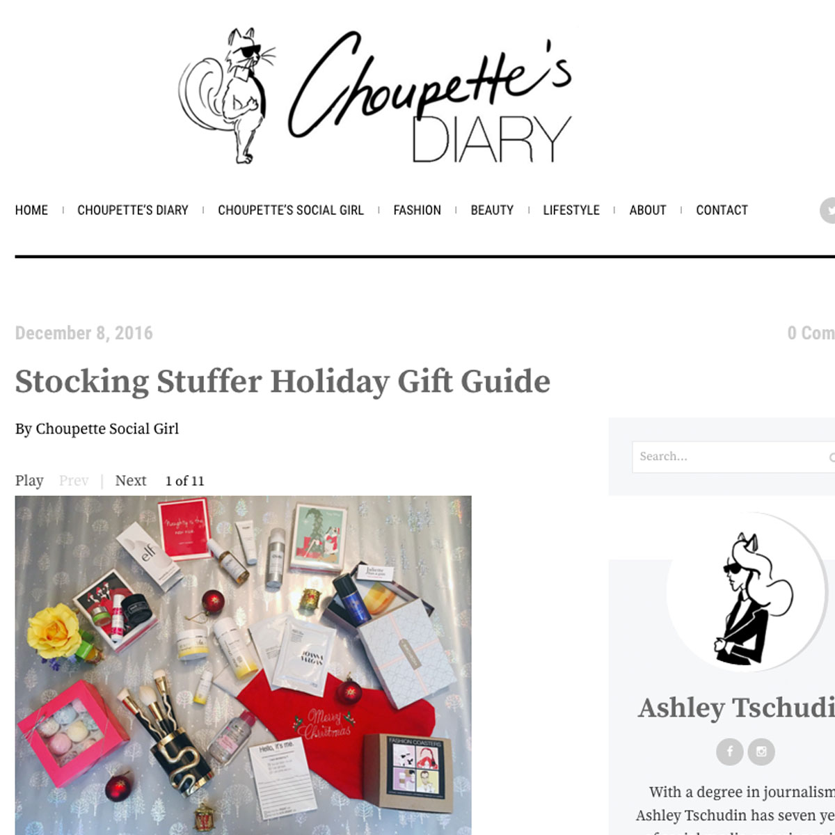 Choupette's Diary | Holiday 2016