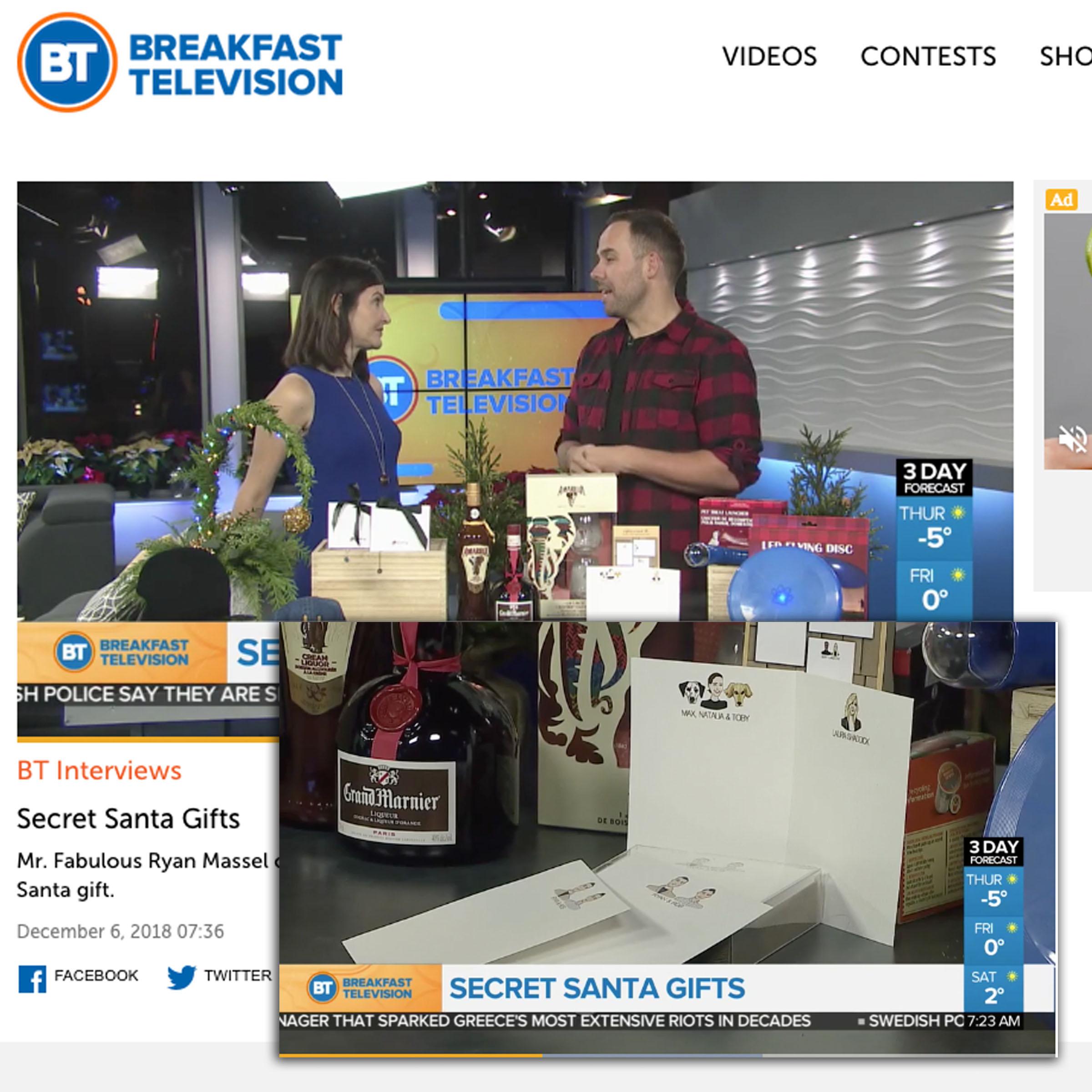Breakfast TV Calgary | December 2018