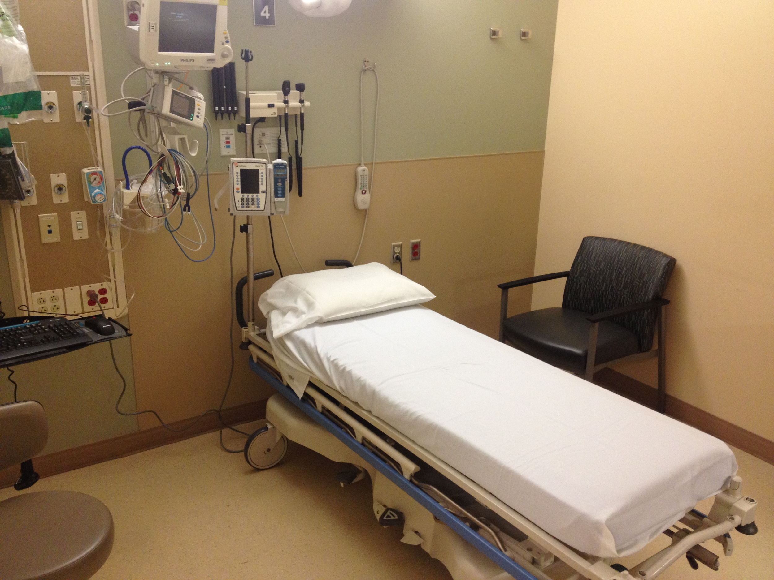 General ED exam room