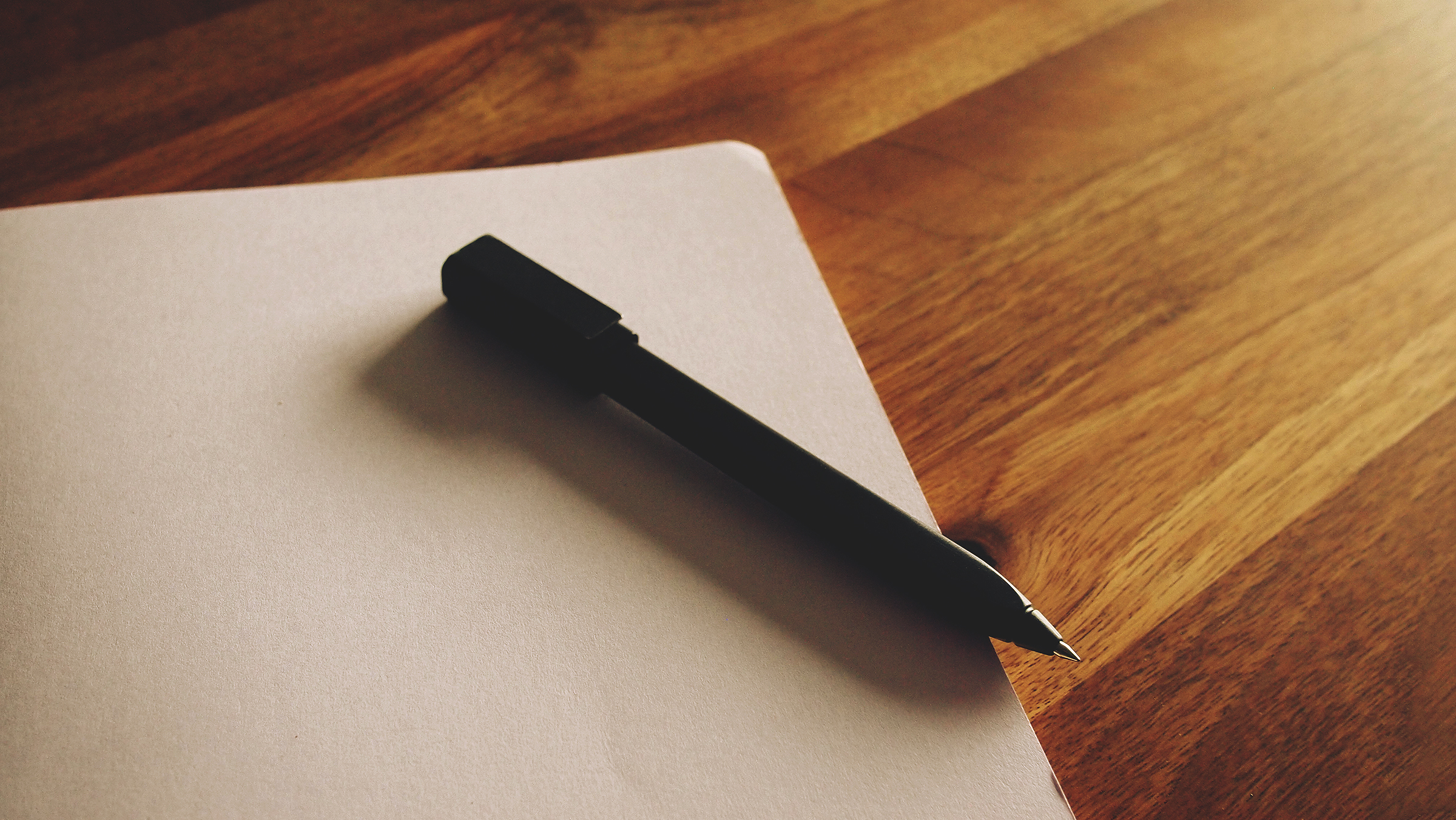 notepad-and-pen-stock-image