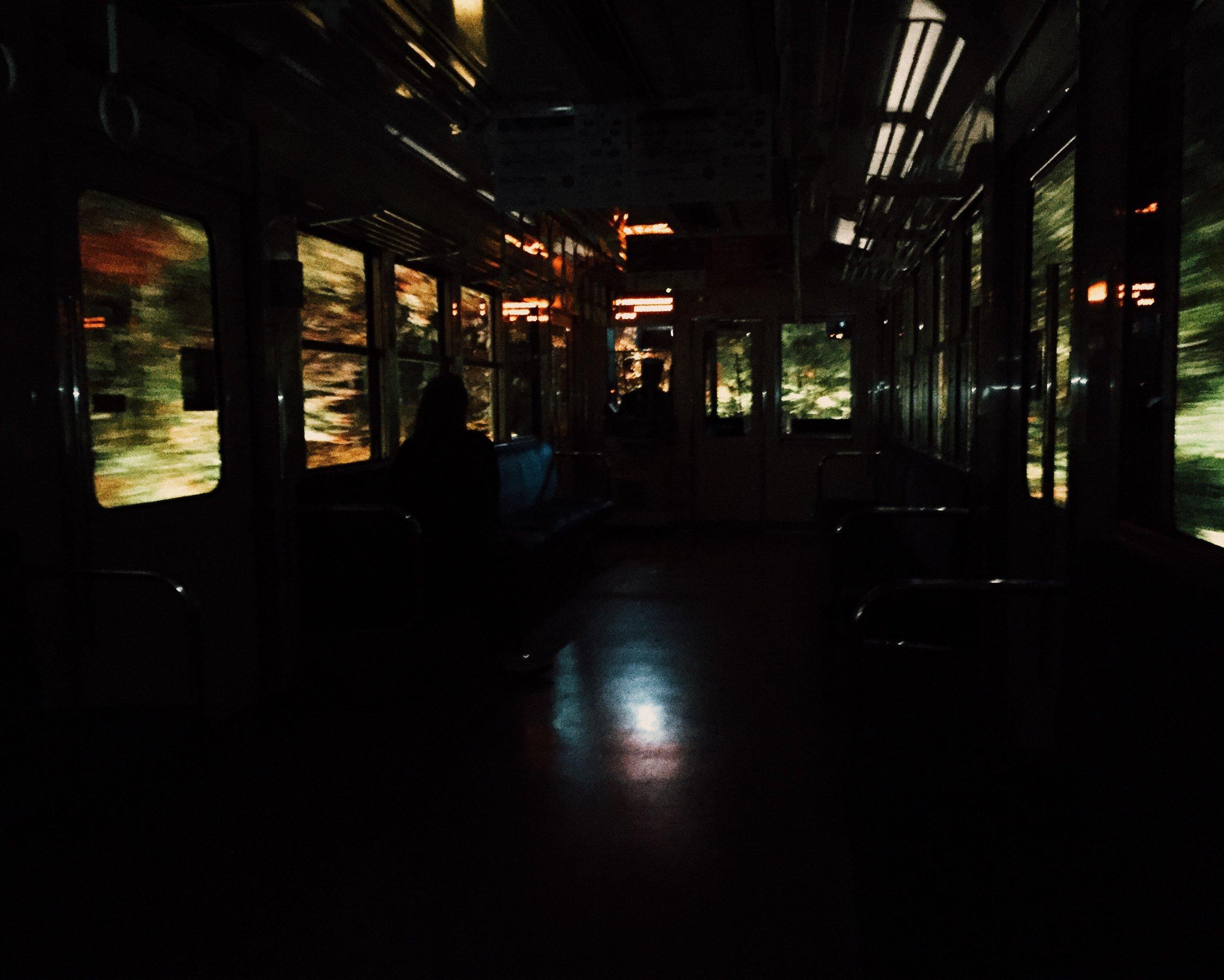 Kirara Train, Autumn 2014.
