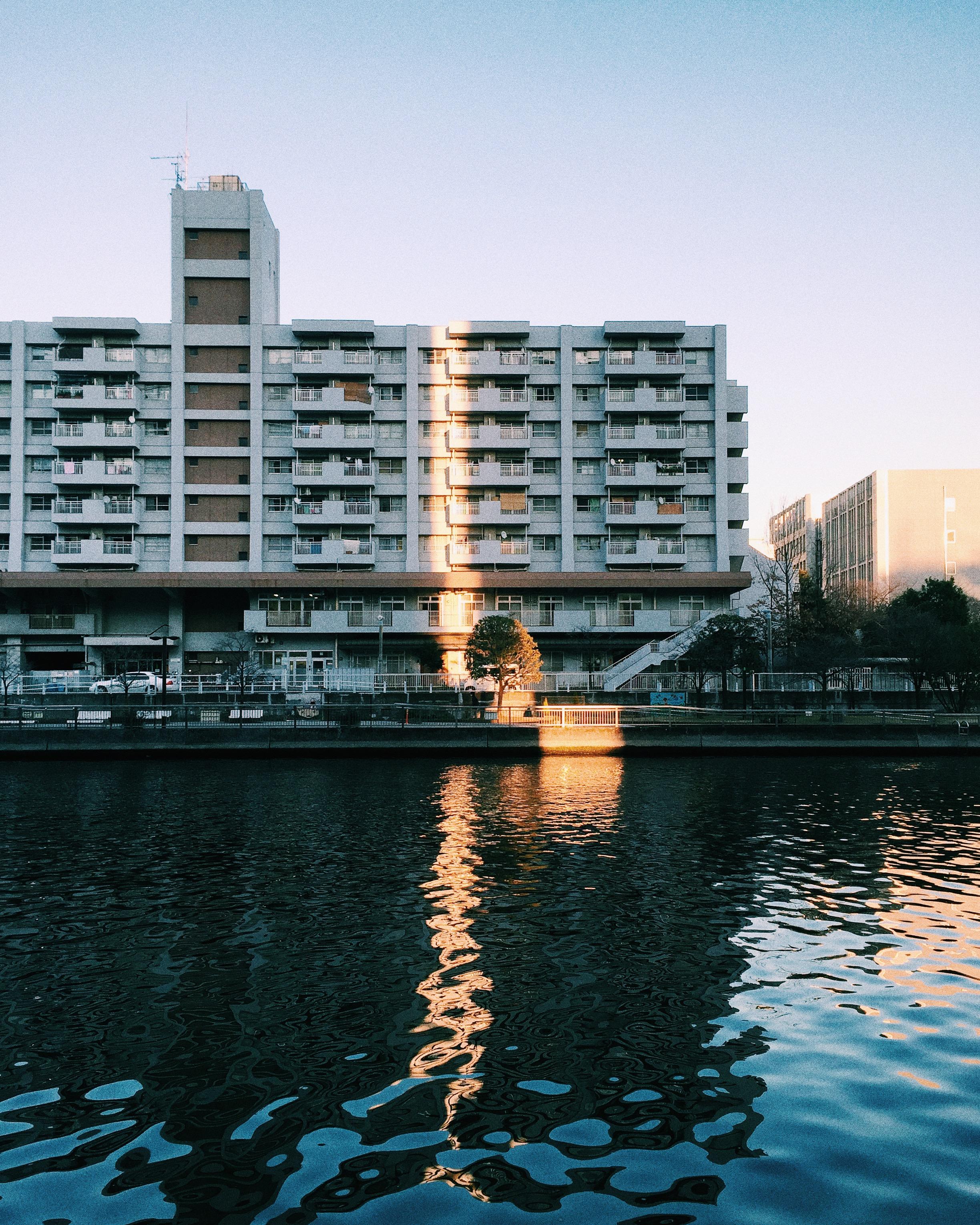 Shinagawa, Winter 2015.