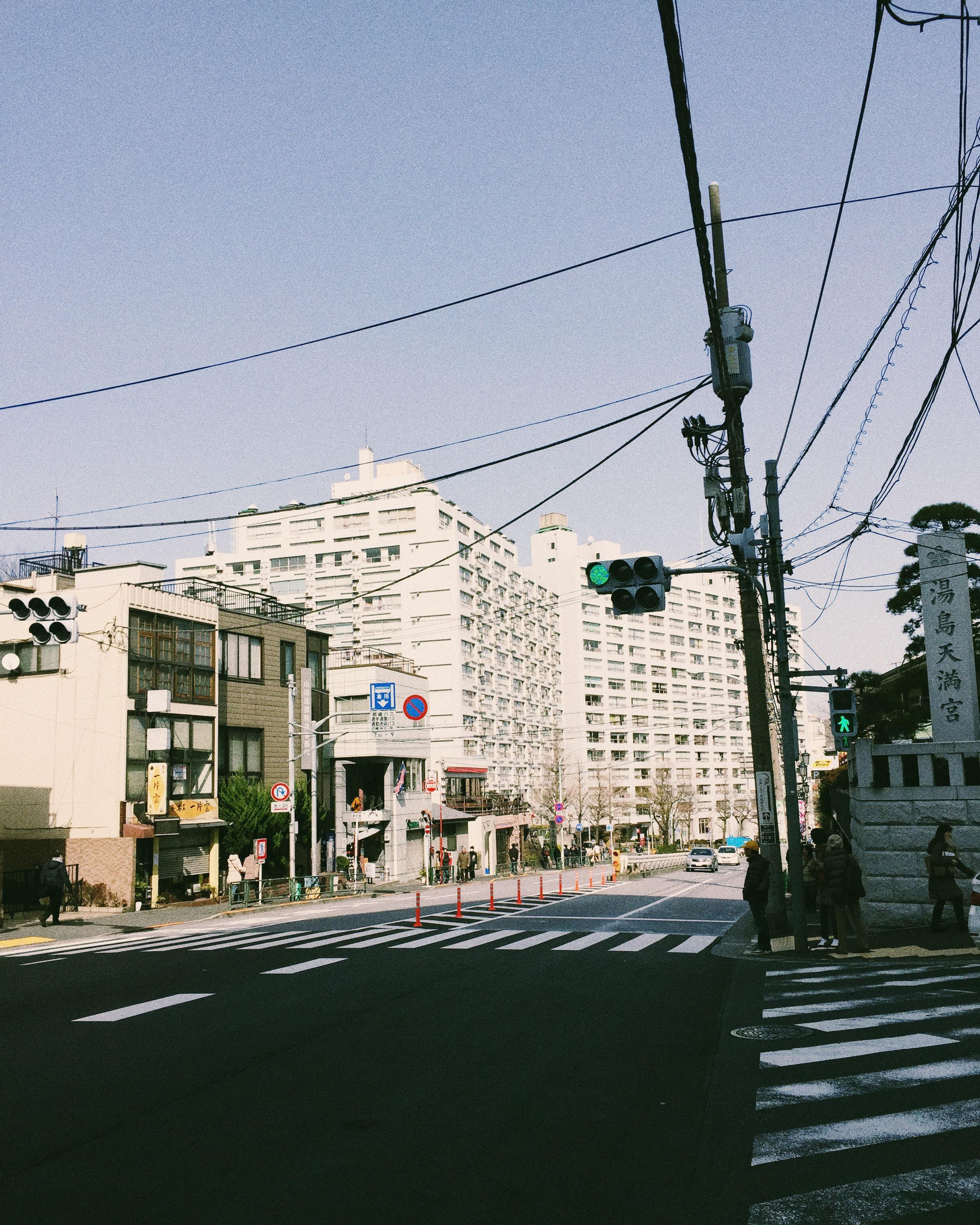 Yushima, Winter 2015.