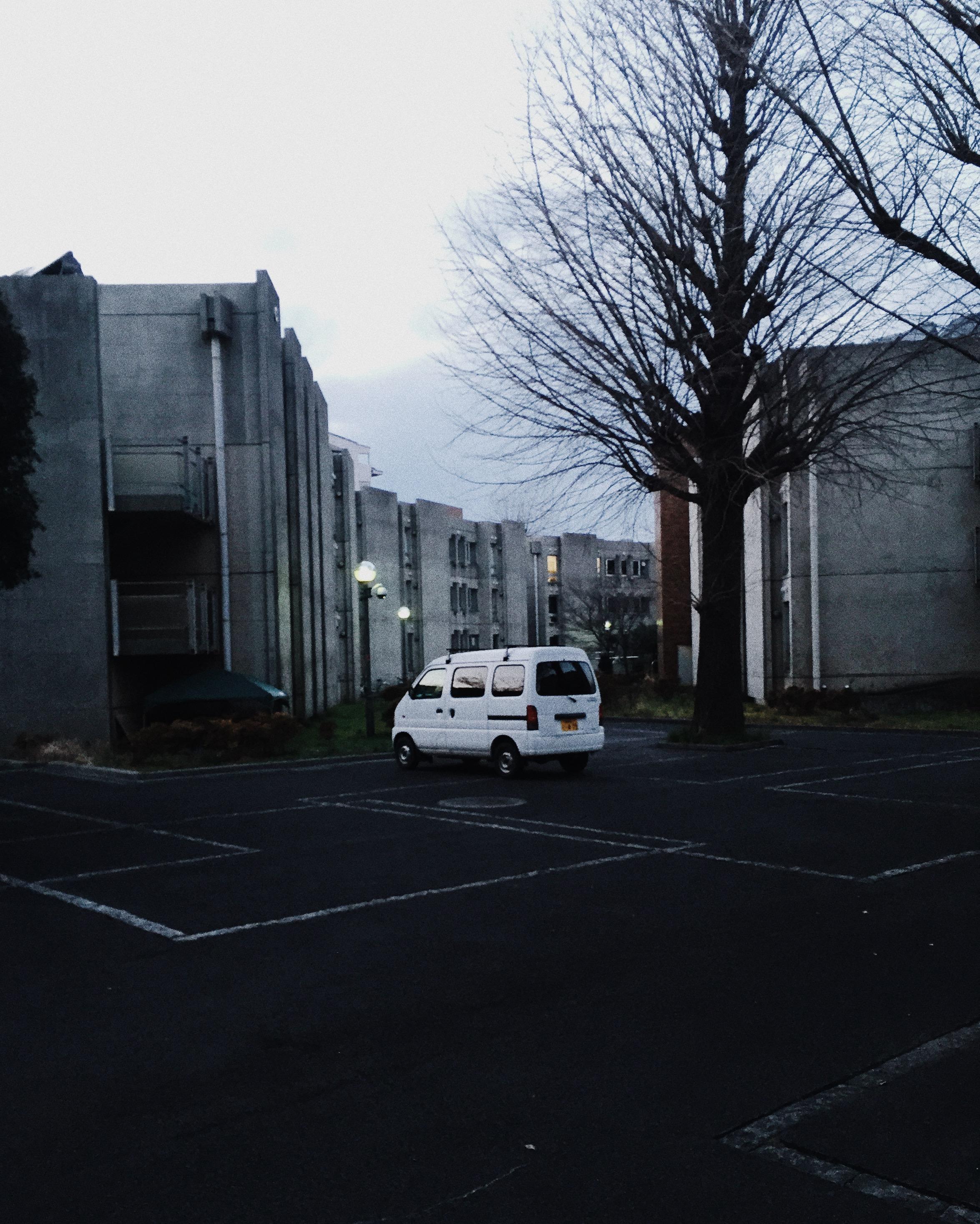 Mitaka International Hall of Residence, Winter 2015.