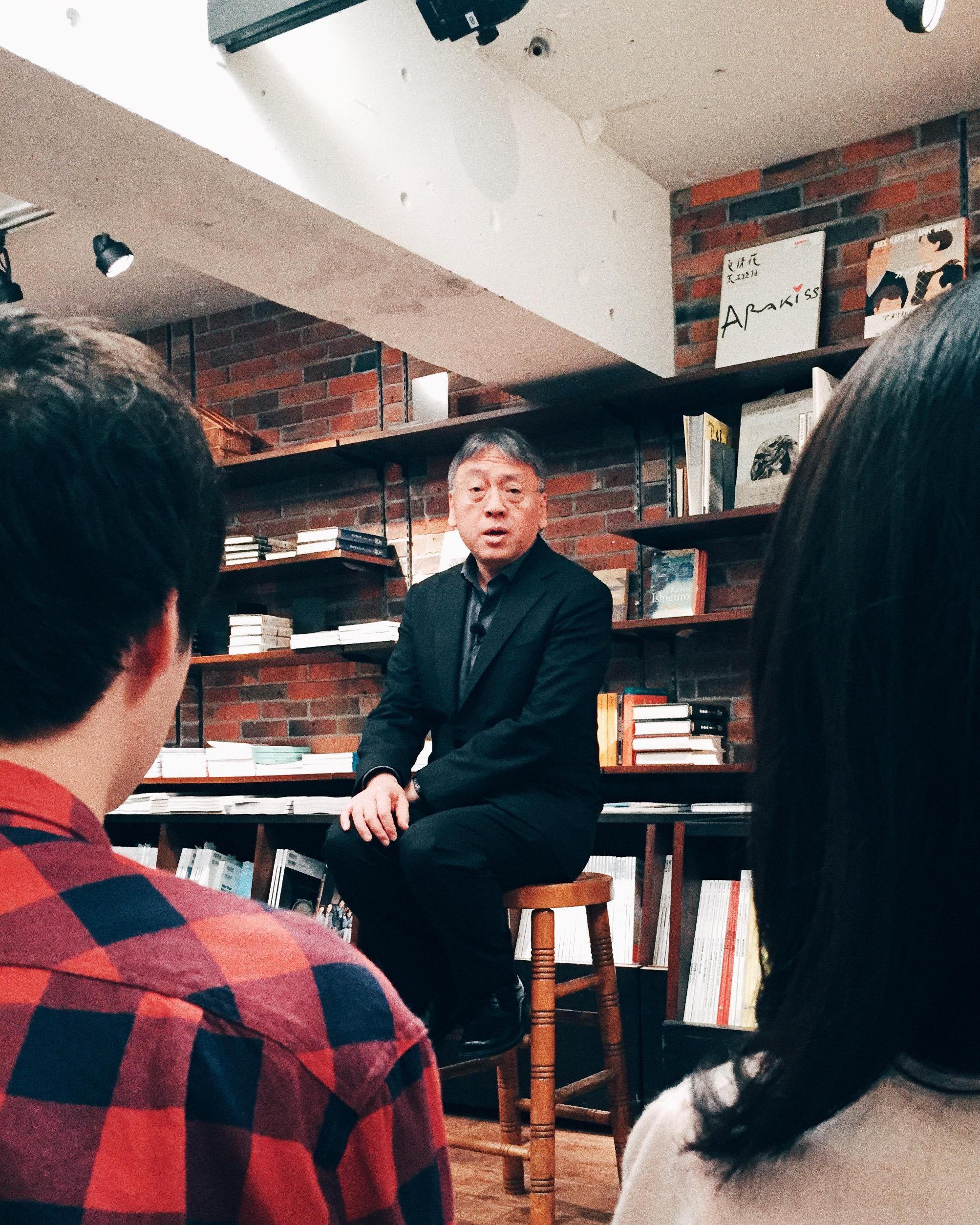 Kazuo Ishiguro. Roppongi, Summer 2015.