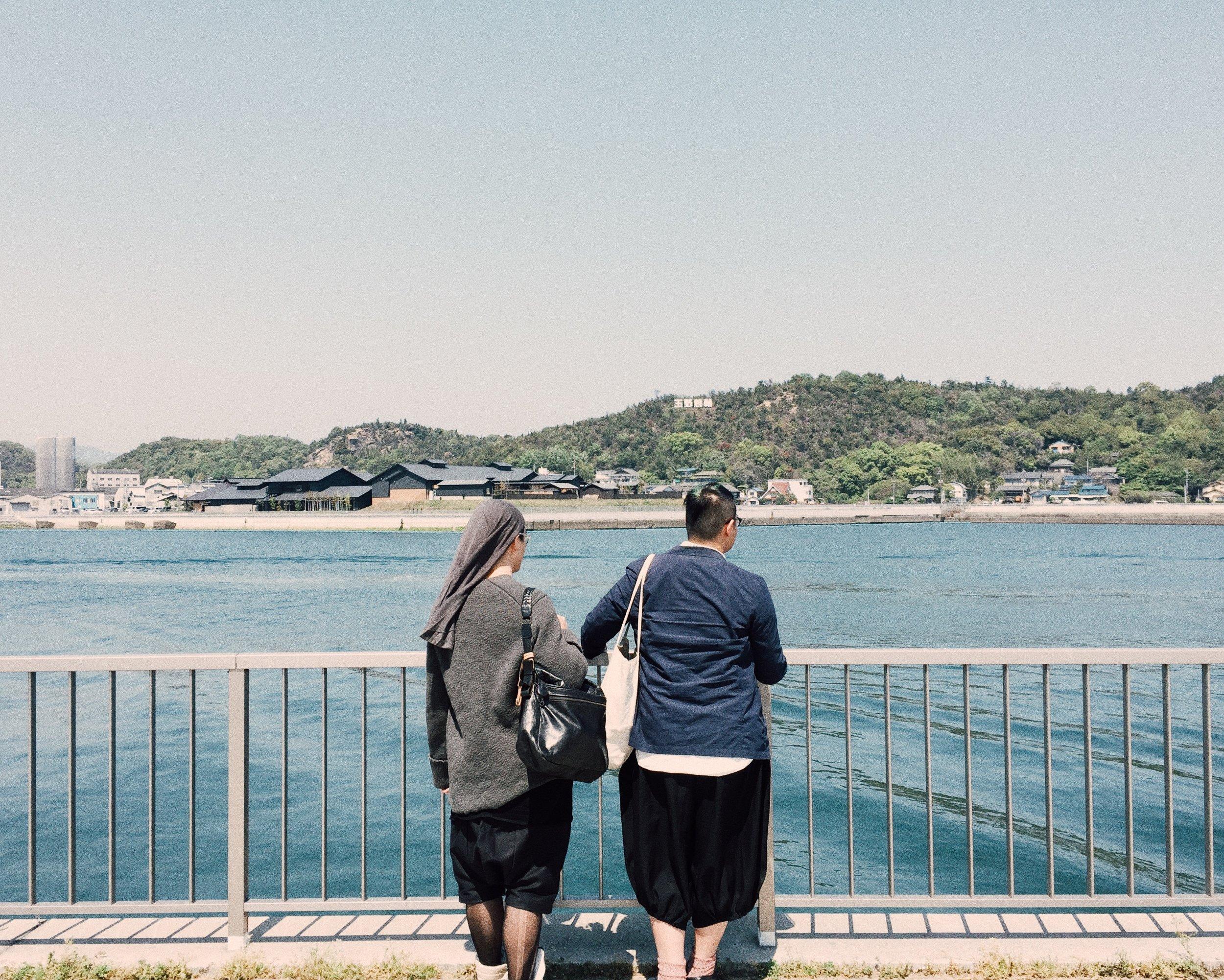 Bobo and Joel. Okayama, Spring 2015.
