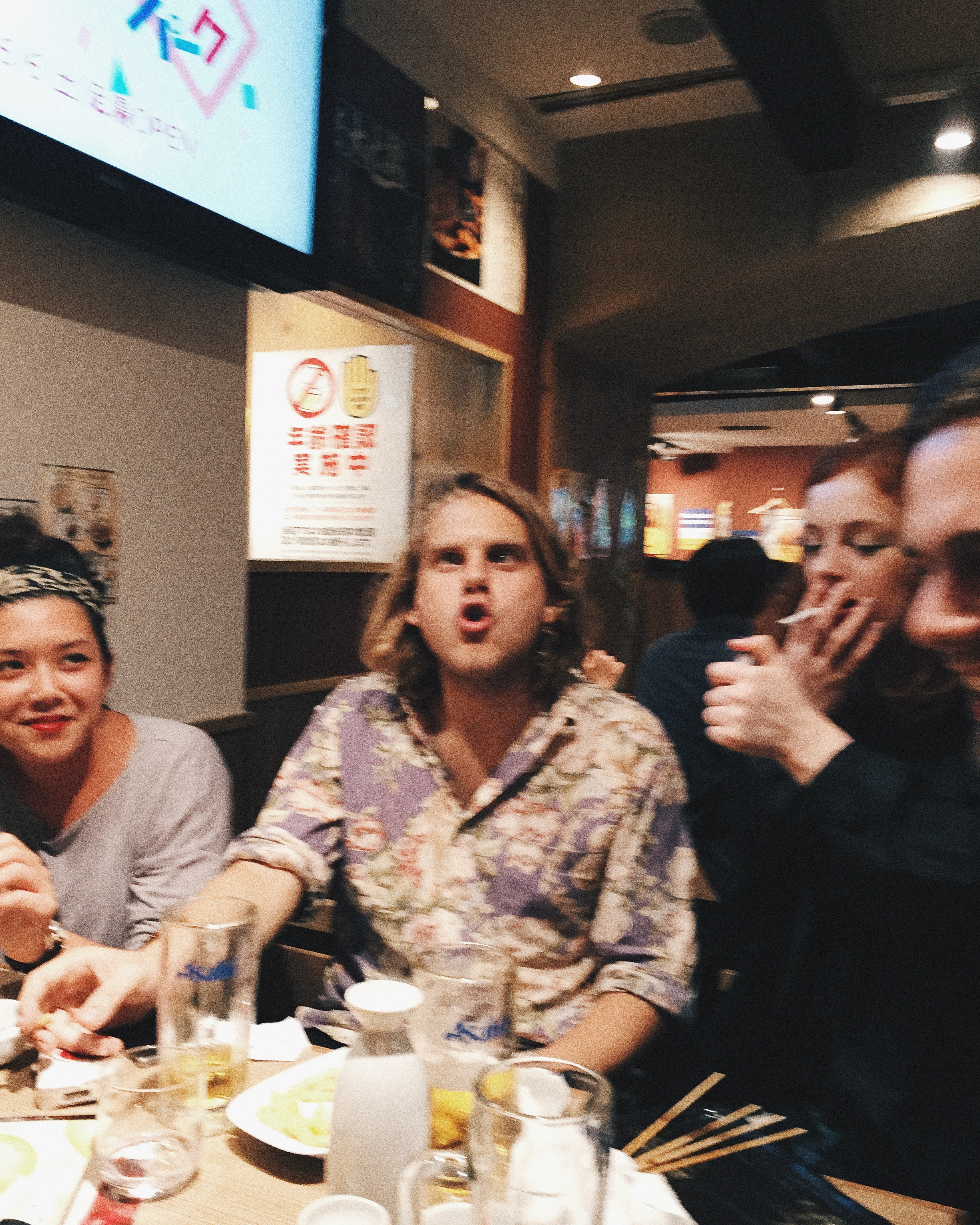 Hannah, Johan and Anna. Shibuya, Summer 2015.