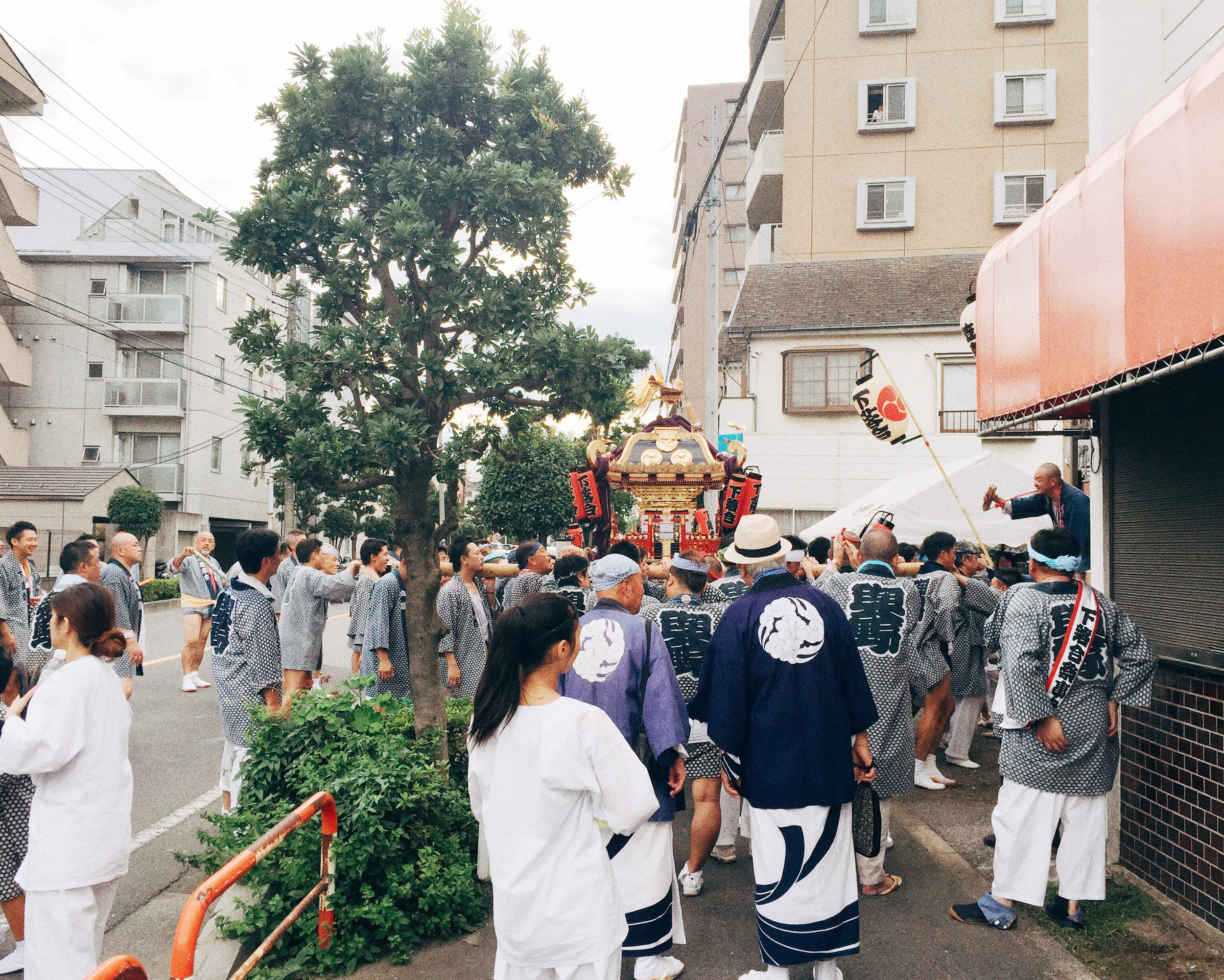 Saitama, Summer 2015.