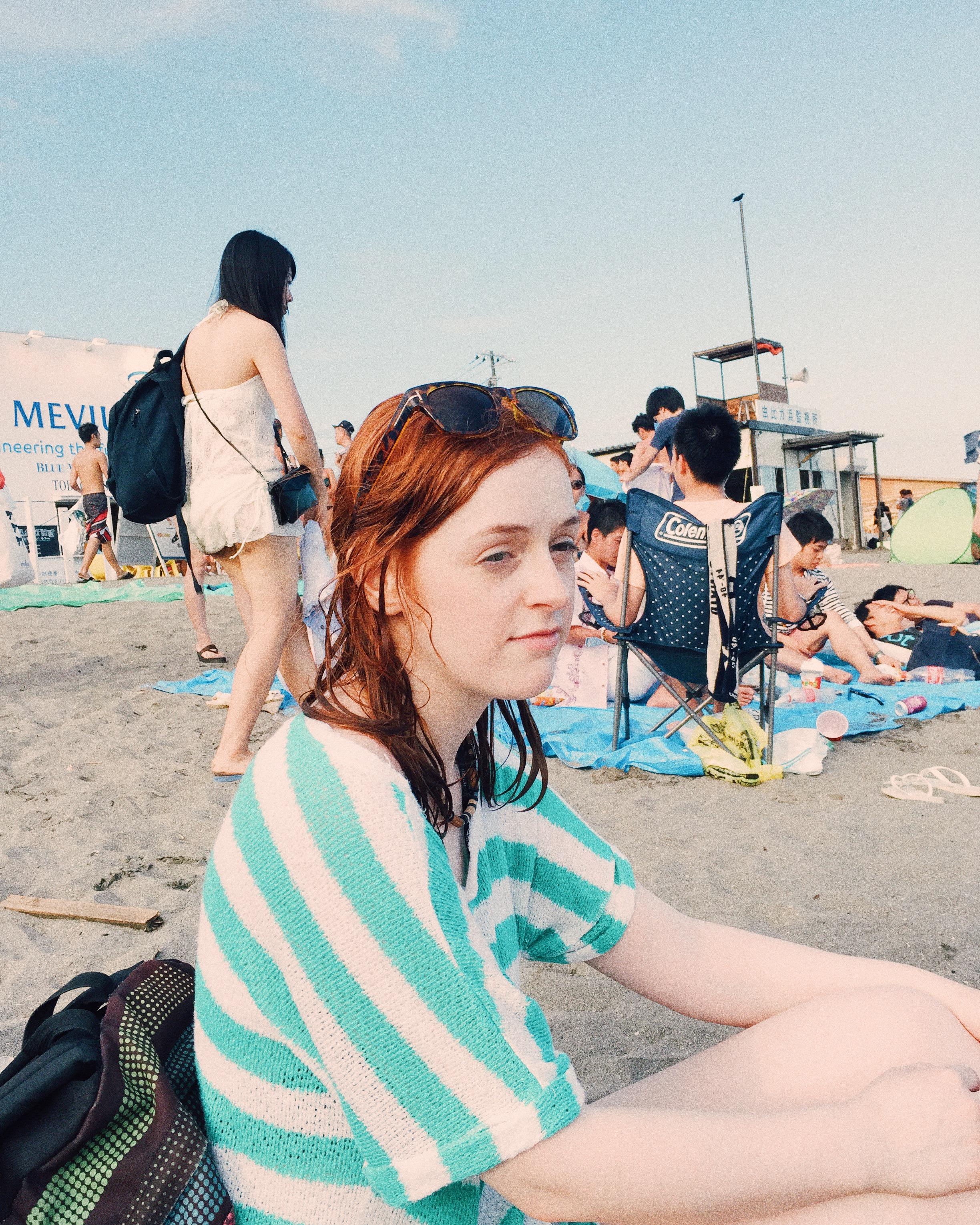 Anna. Kamakura, Summer 2015.