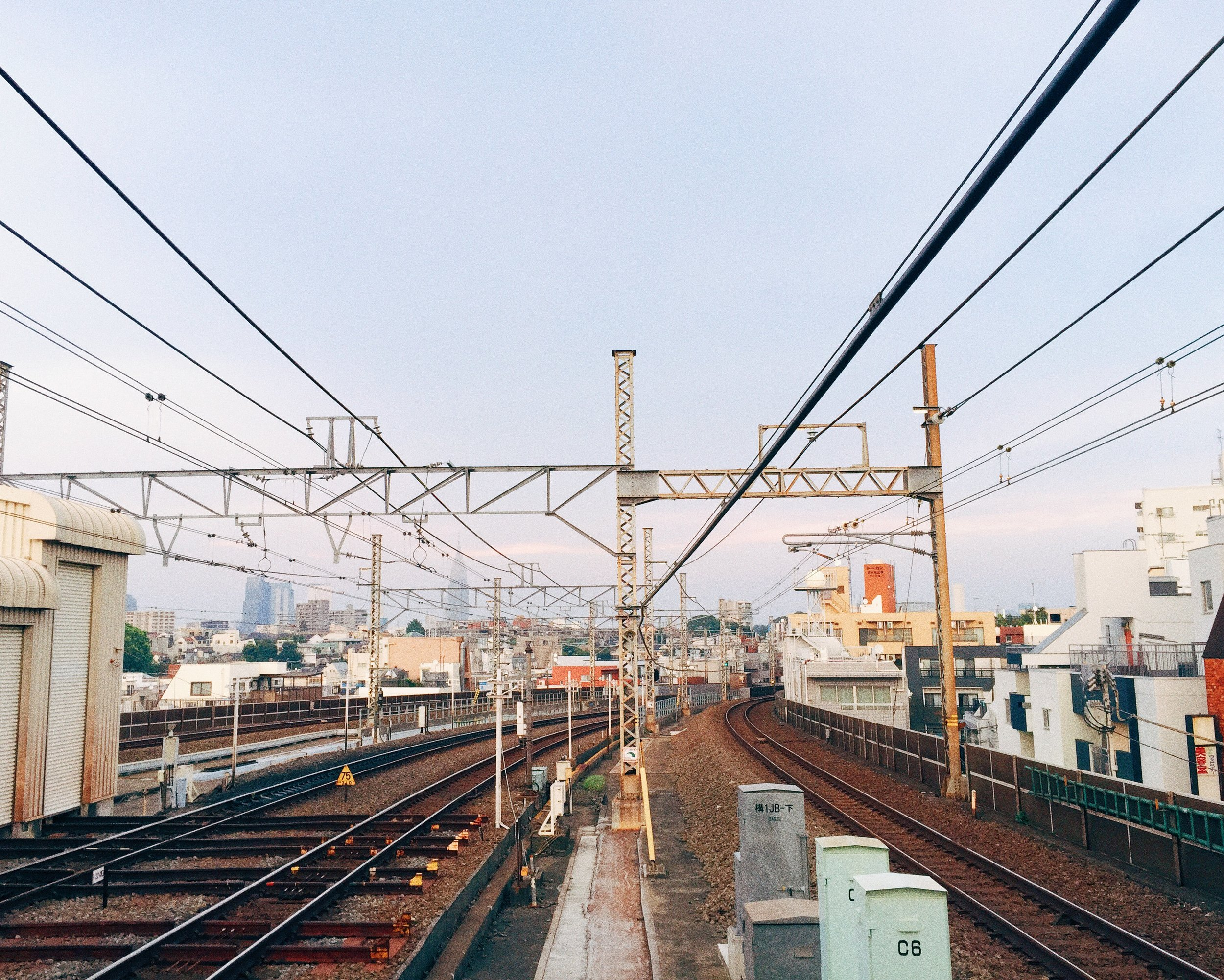 Keio Line, Summer 2015.