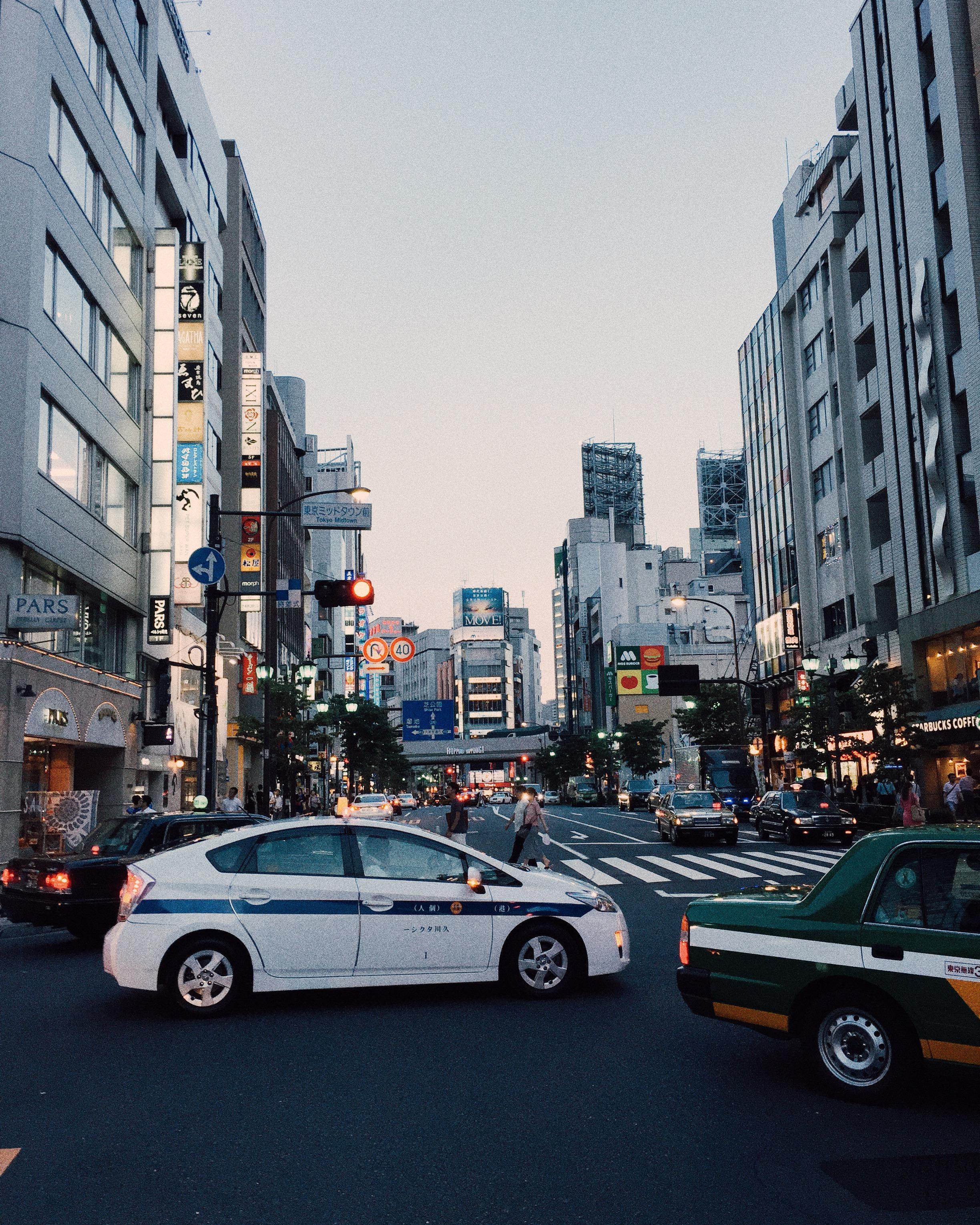 Roppongi, Summer 2015.