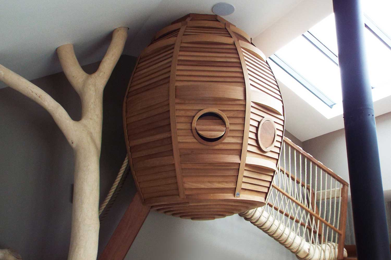 Bespoke Indoor Treehouse