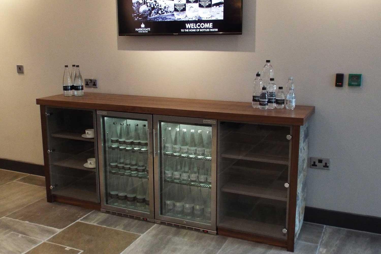 Harrogate Water Reception Area