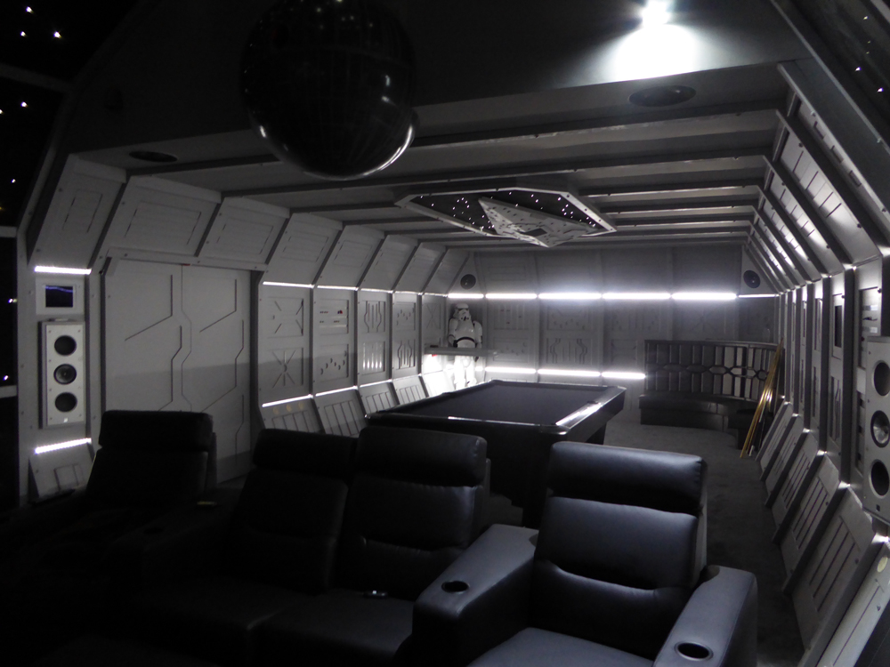 Star Wars Cinema Room
