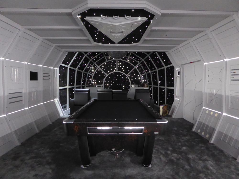 Star Wars Millennium Falcon Cinema Room