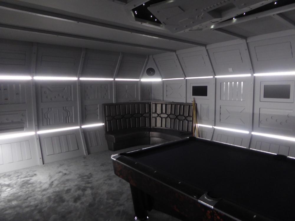 Star Wars Cinema Room