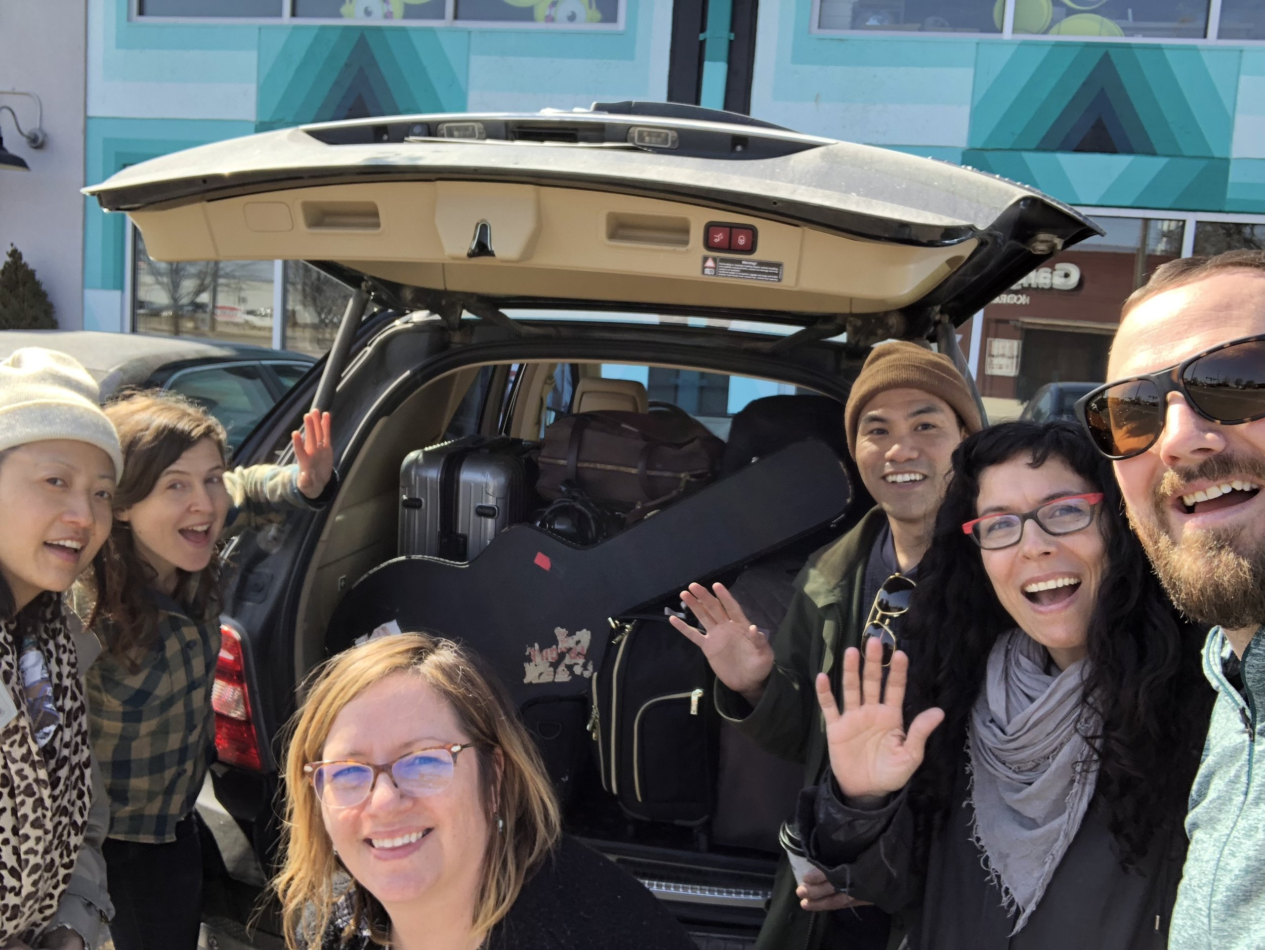 Some of your Jump!Star team: Jee Young Sim, Mirah, Kristin Beal, Alan Calpe, George Ferrandi and Ryan Gates.