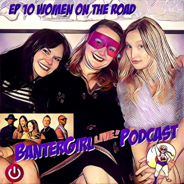 """BanterGirl LIVE! brings together musical comedy duo Reformed Whores and The Broadcast's front woman Caitlin Krisko to discuss what it's like to be """"Women on the Road."""" Stories of escaped convicts, roofied drinks, Weird Al, Les Claypool, and what it's like to open up for Lynard Skynard in front of an audience of 20,000+ bikers will be shared!"""
