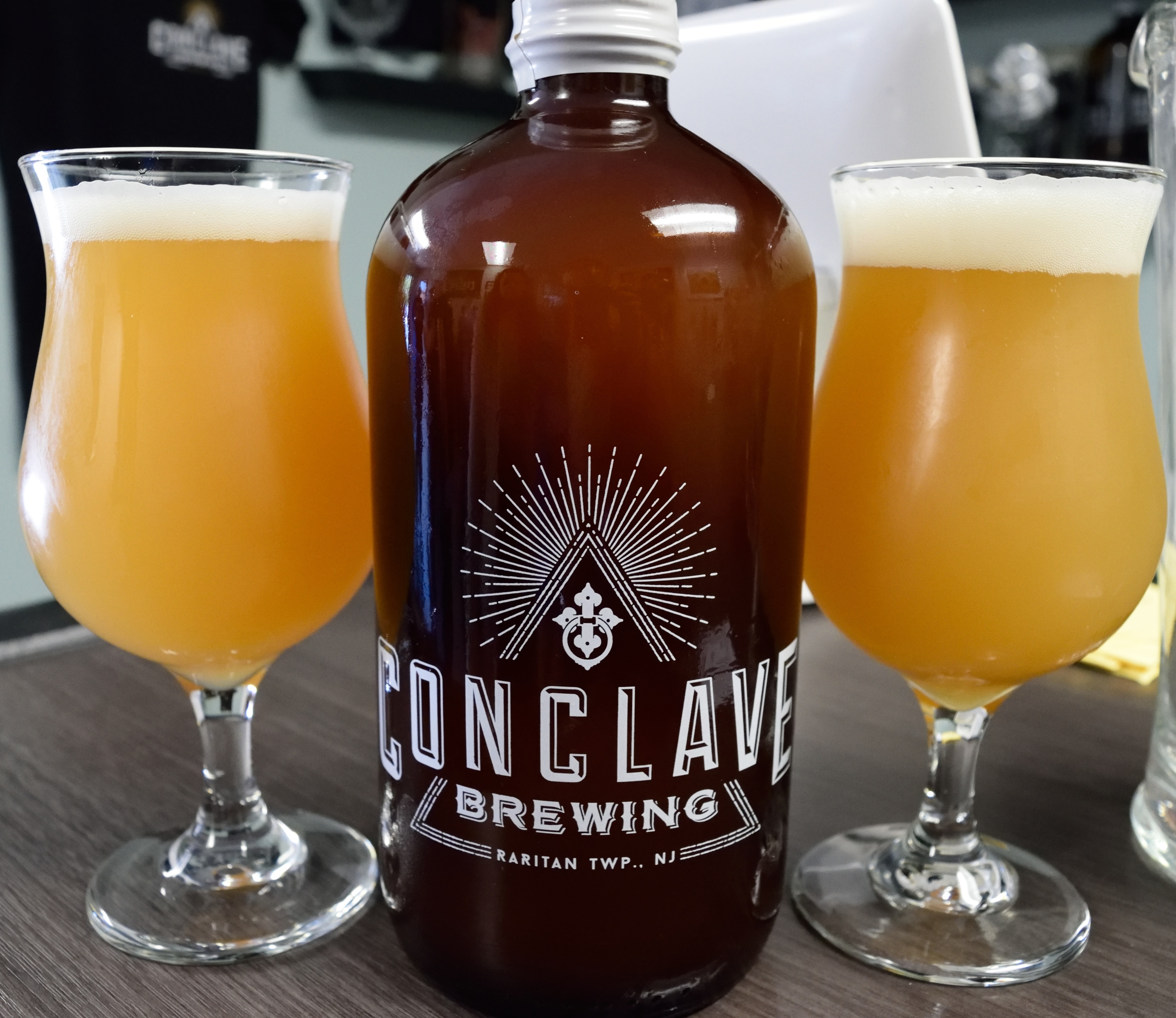 Make sure you bring a growler or purchase one, you're going to want to take something home!