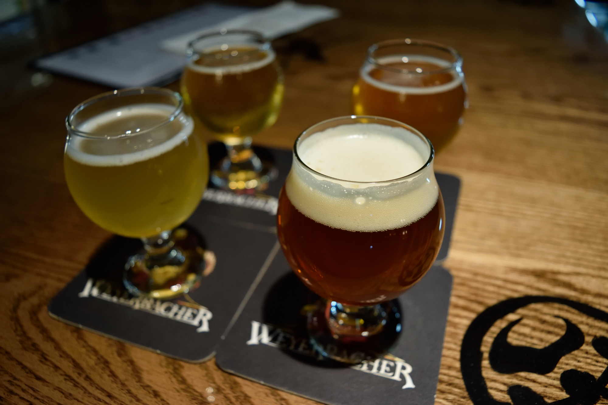So a pilsner, a Hefeweizen, and two IPA's walk into a bar...