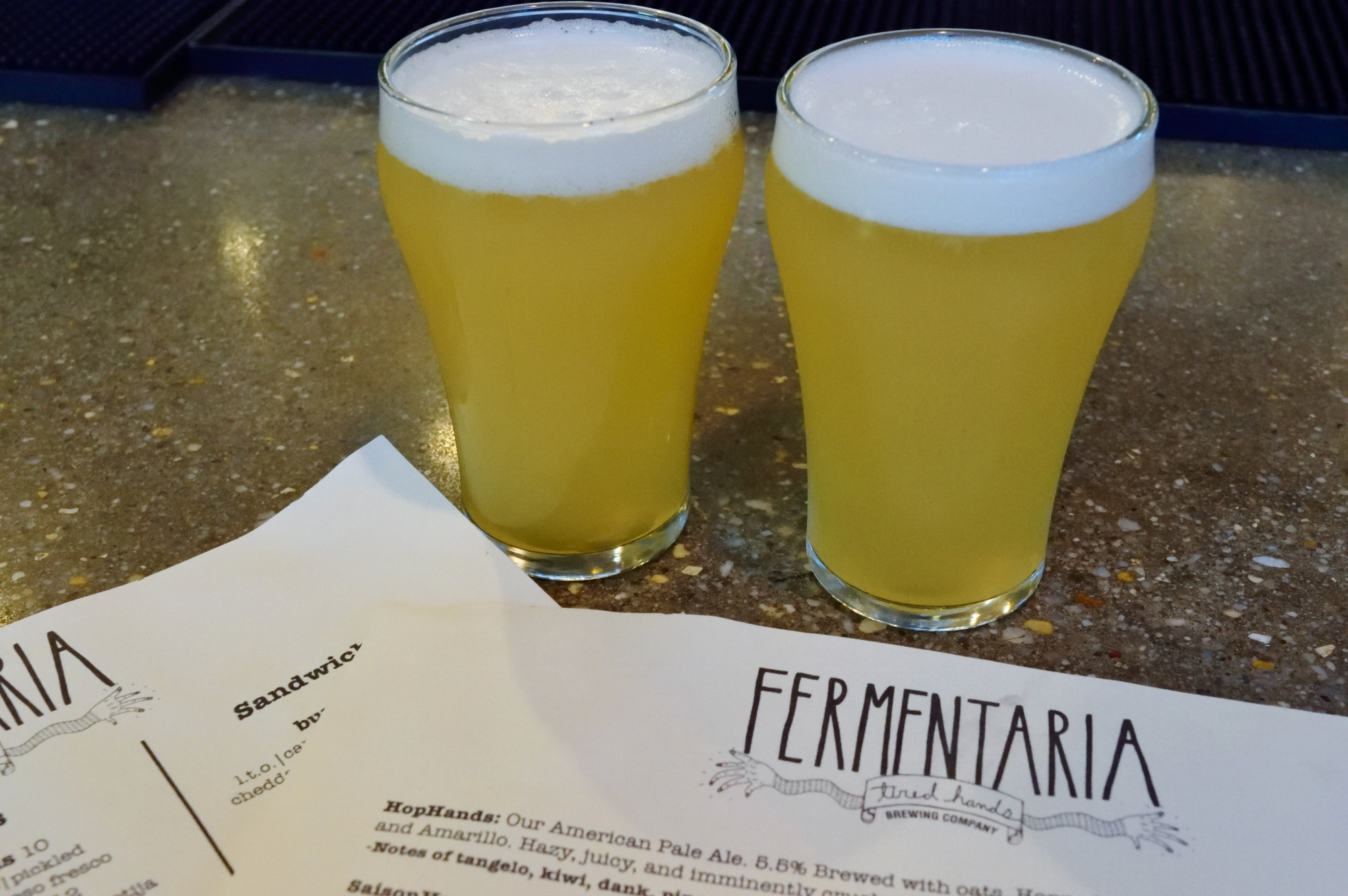 Tired Hands Fermentaria - at long last...