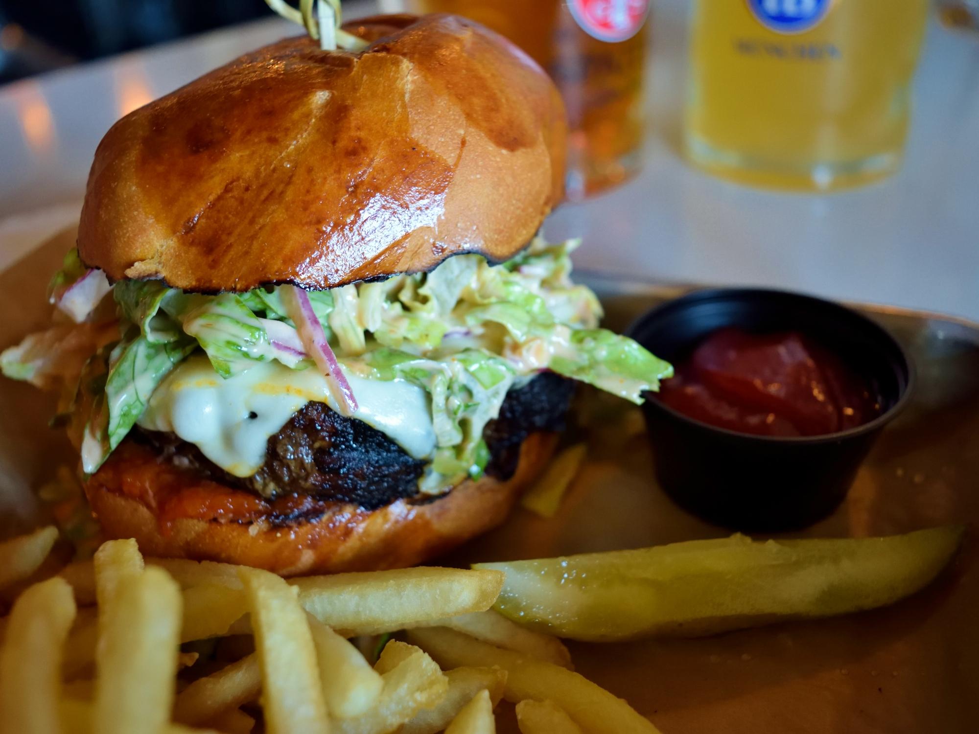 Asbury Festhalle Burger... ENHANCE!