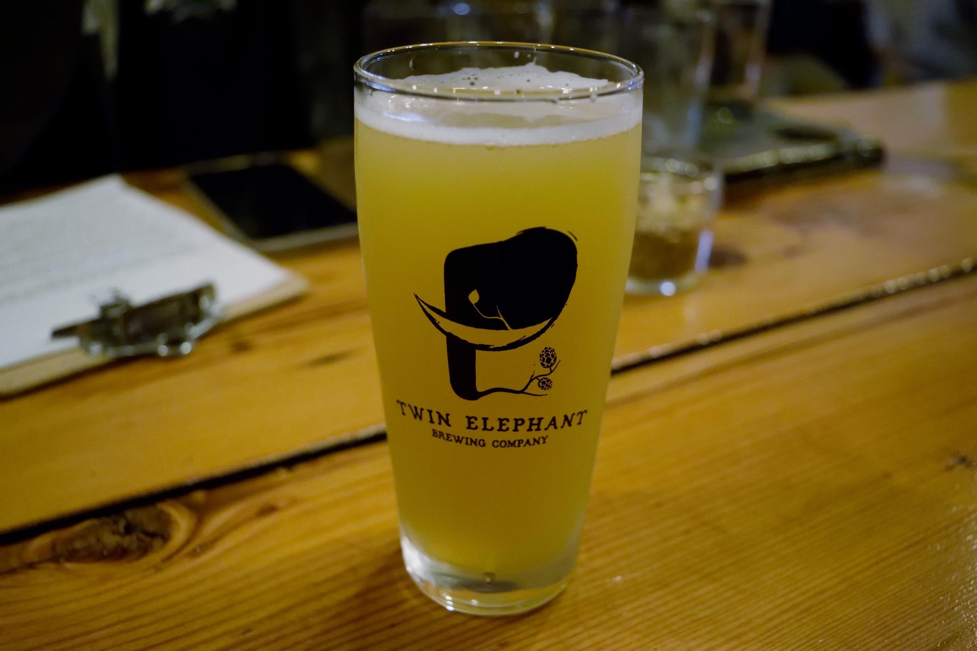 Sleek design, elegant glass, delicious beer - please stick around, Lil Shimmy Ye!