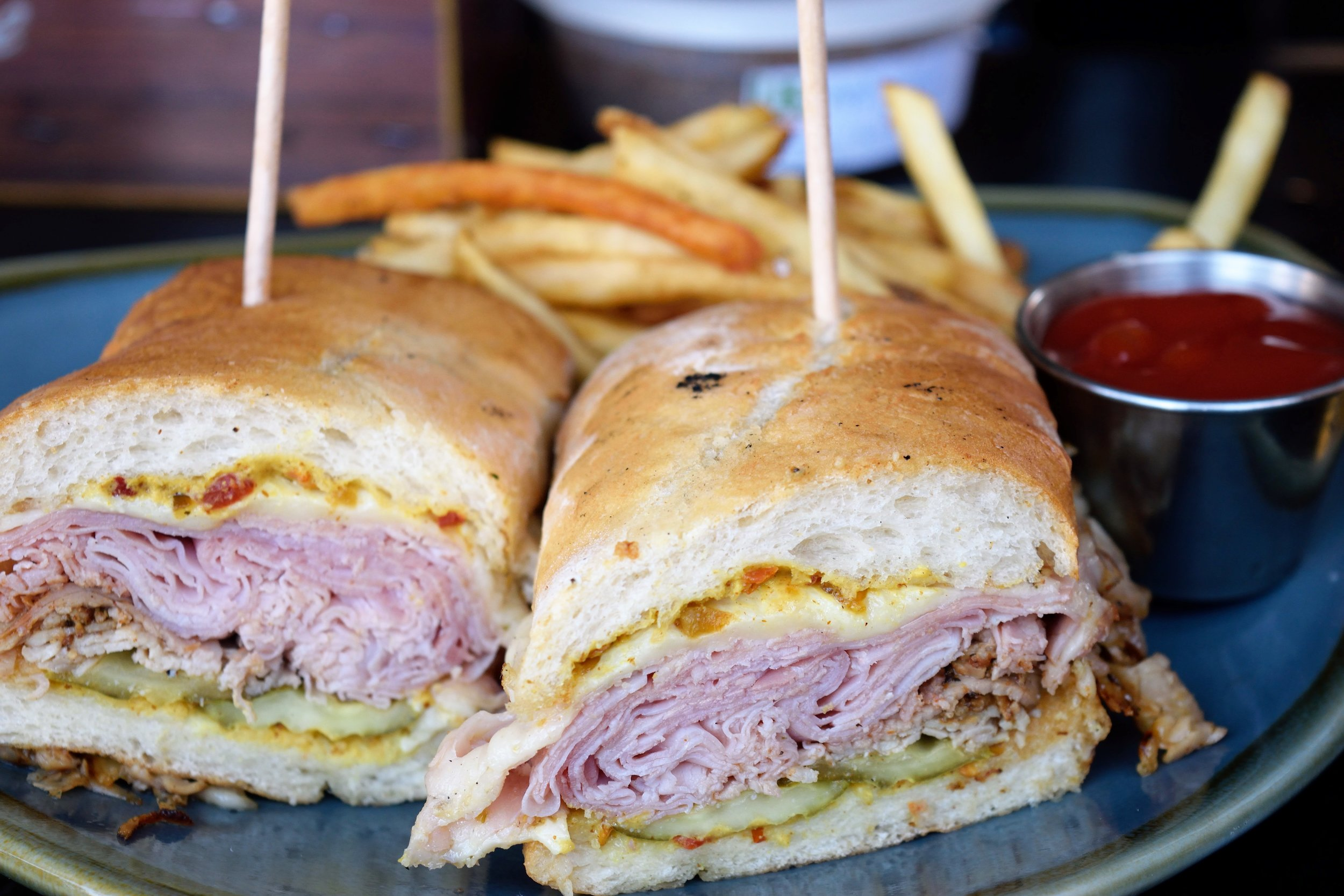 Cuban sandwich - the pickles really made this shine WAY more!
