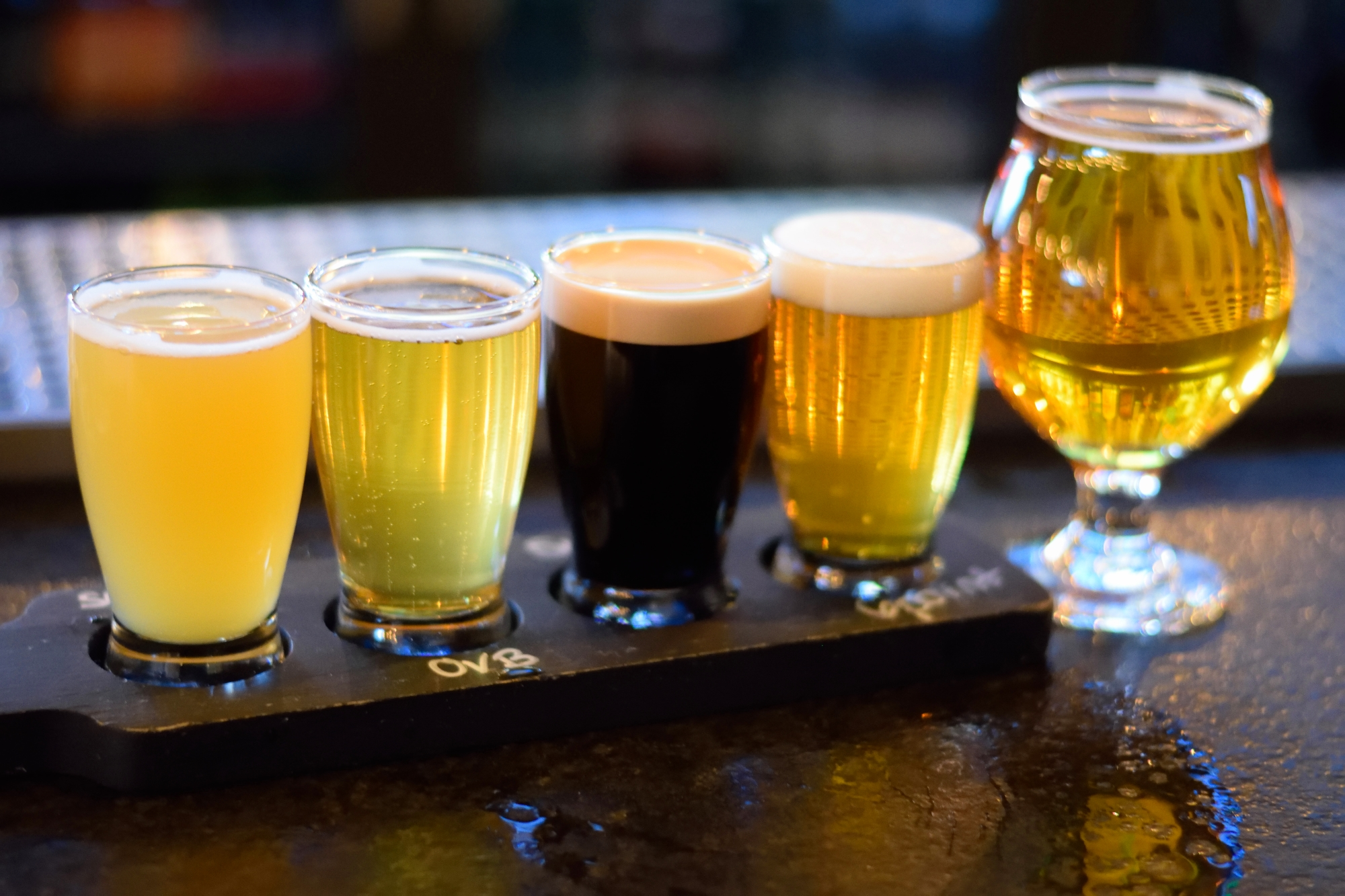 Whenever a bar does flights... I'm on board.