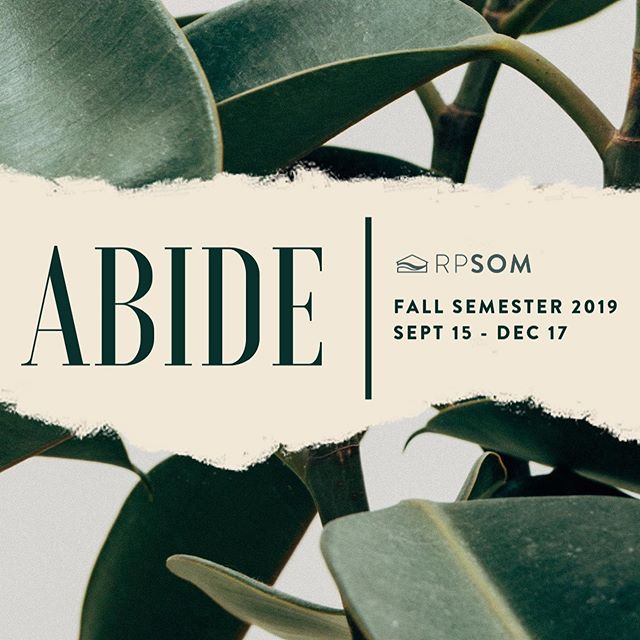 [REGISTRATION FOR RPSOM FALL 2019 IS OPEN] . . Resting Place School of Ministry fall semester is quickly approaching and we are so excited to see returning and new students grow this season! . . Info and applications are now up at restingplacehop.com/rpsom. Have questions? Email som@restingplacehop.com.