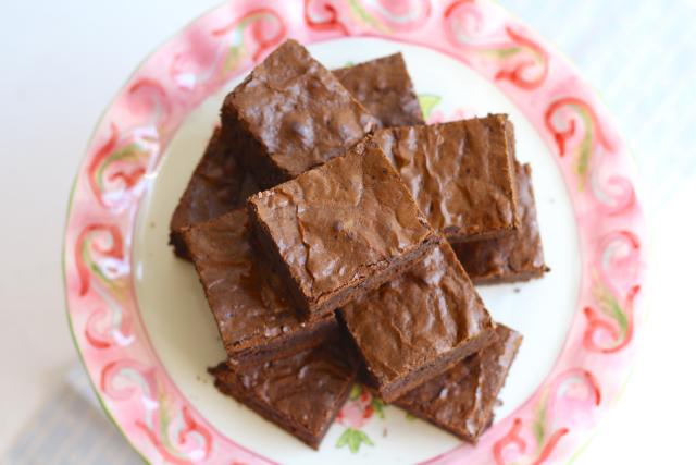 Chewy, Fudgy Triple Chocolate Brownies