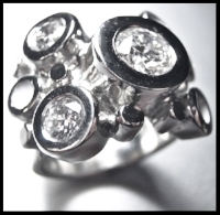'seltzer' never looked so good, sized up, diamonds, enamel and platinum