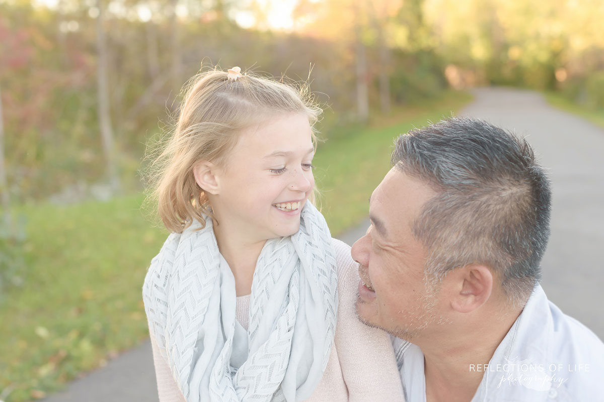 daddy and daughter family photos grimsby ontario canada