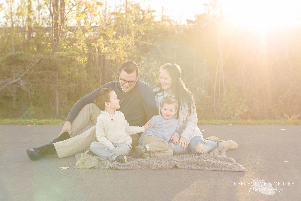 Fun family photographer grimsby ontario canada