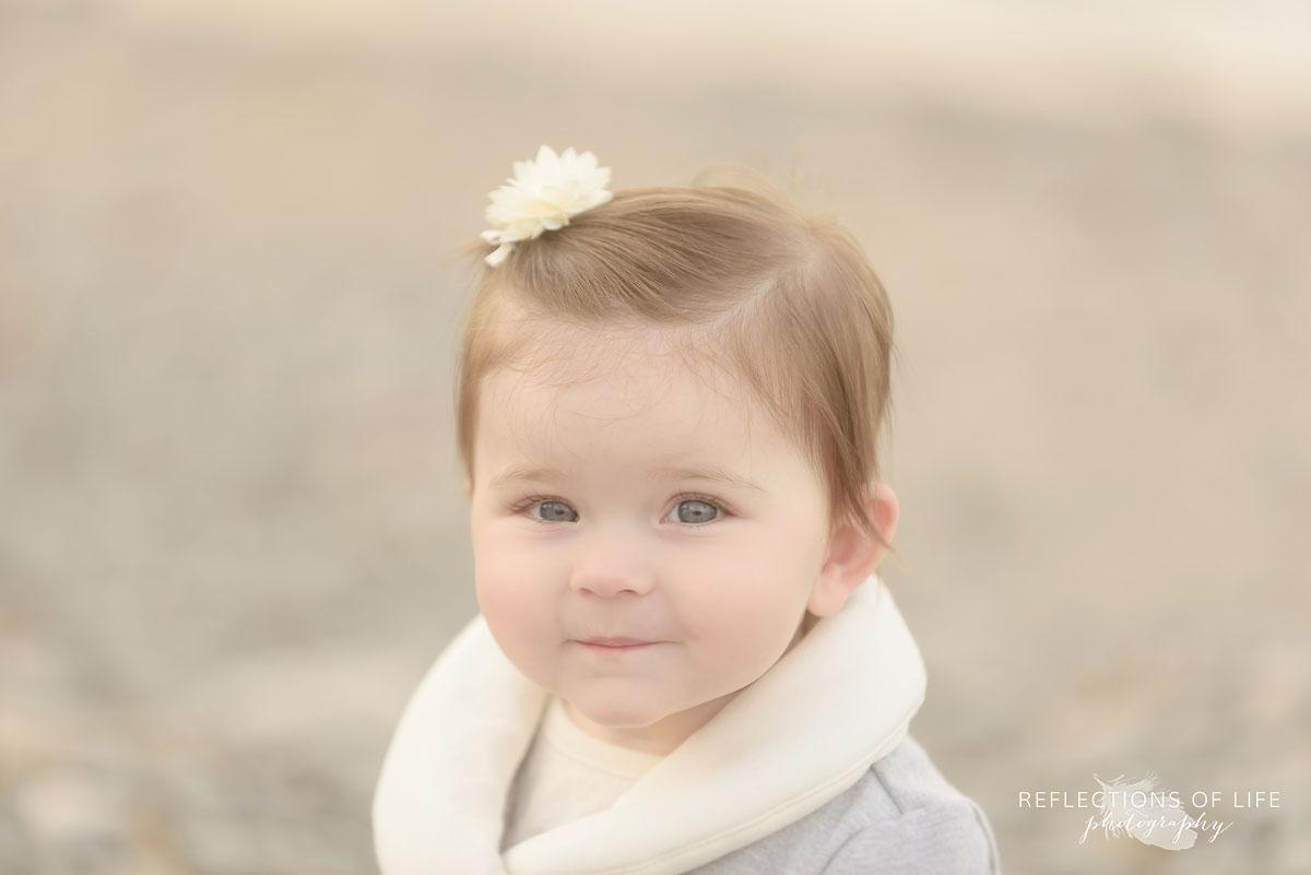 Real smiles photos of babies in Niagara Region of Ontario Canada