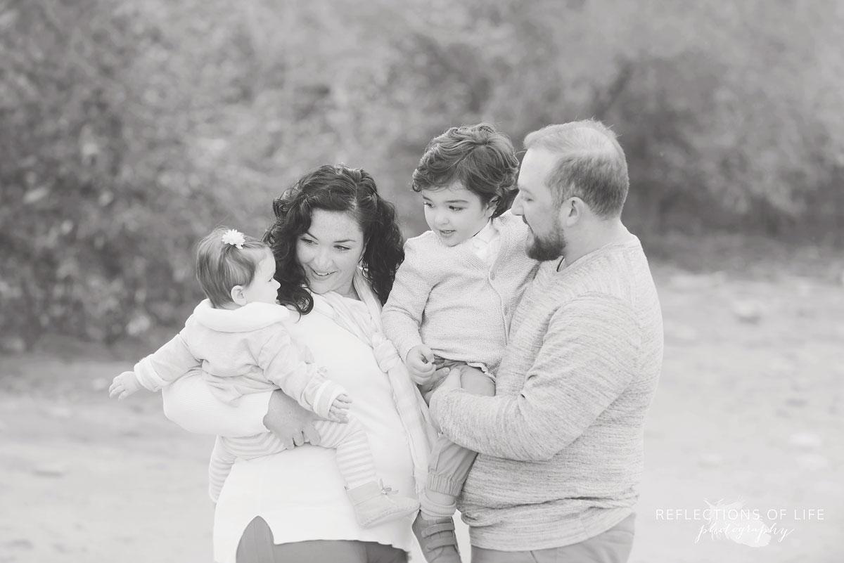 Serene family photographer Oakville Ontario