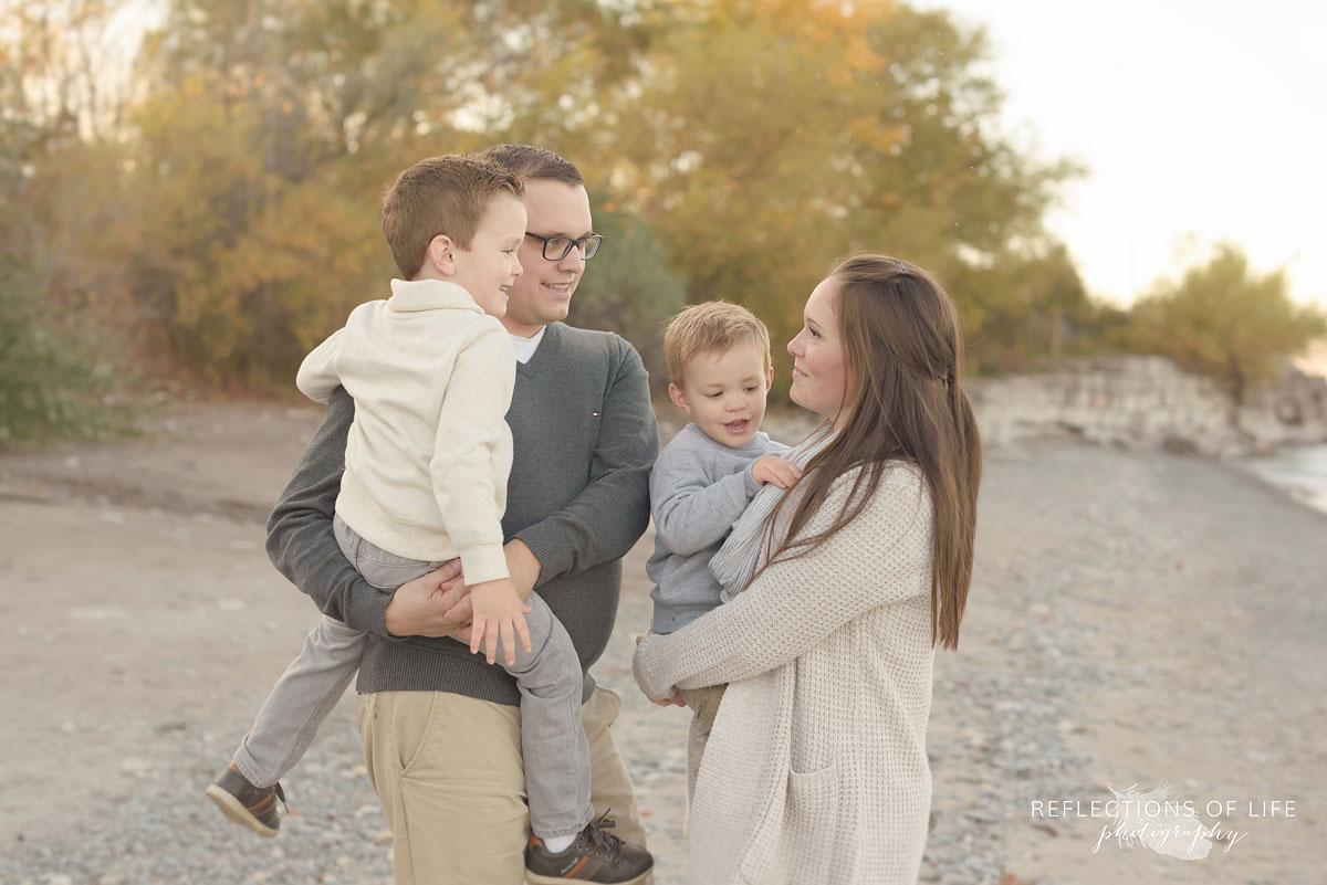 Niagara Ontario Family Photography at the beach