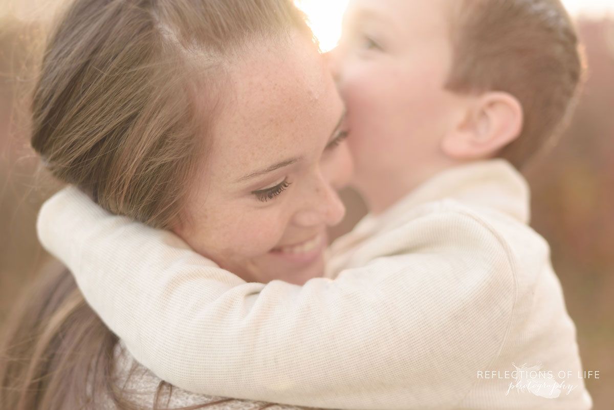 professional mother and son photography Grimsby Ontario Canada