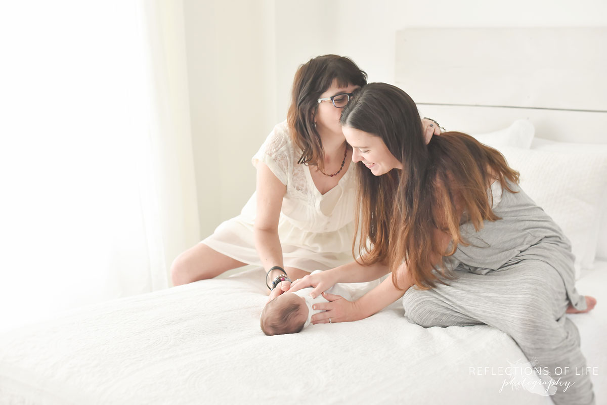 008 Mother Daughter and Newborn Photography Ontario Canada
