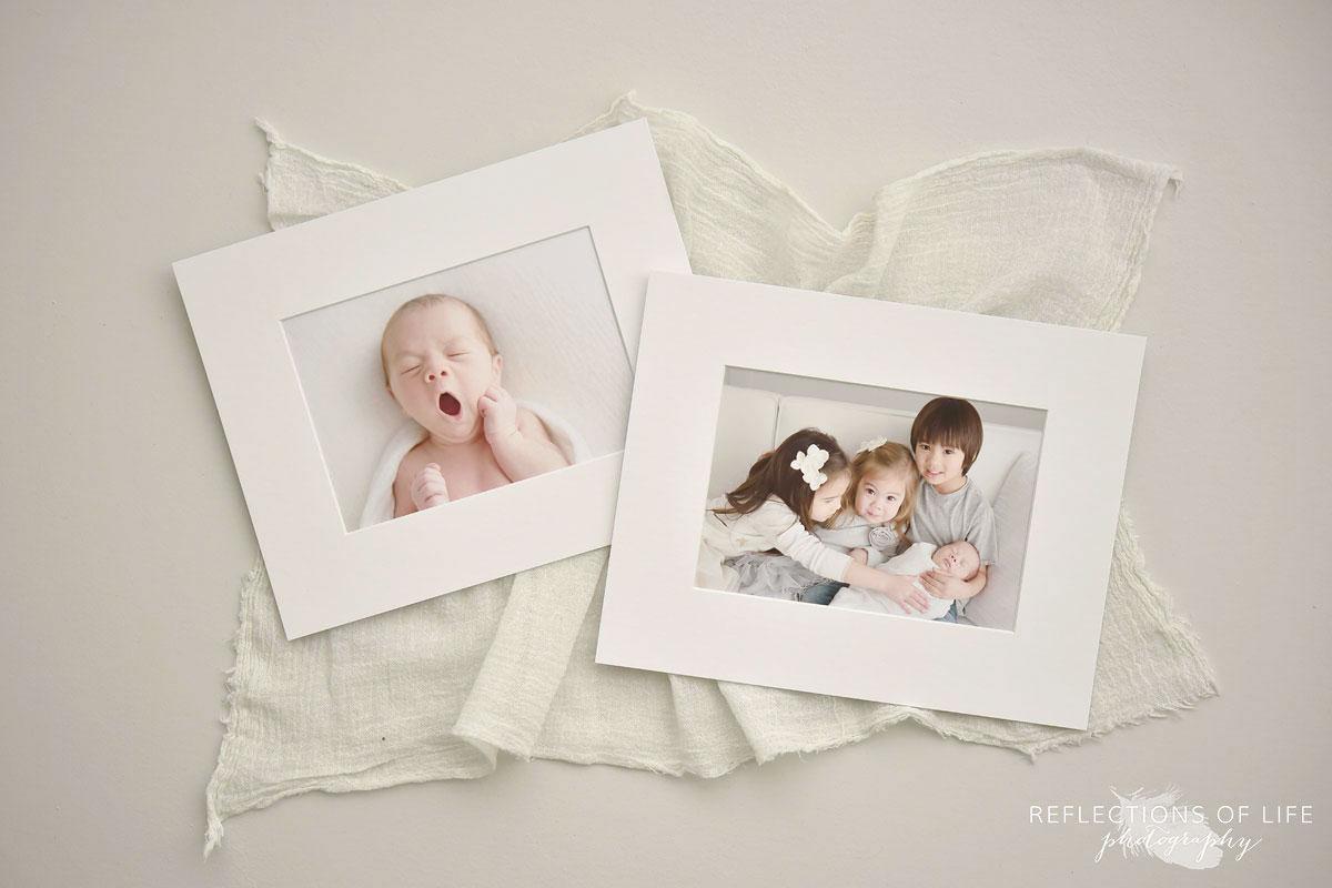 Newborn Matted Print Set