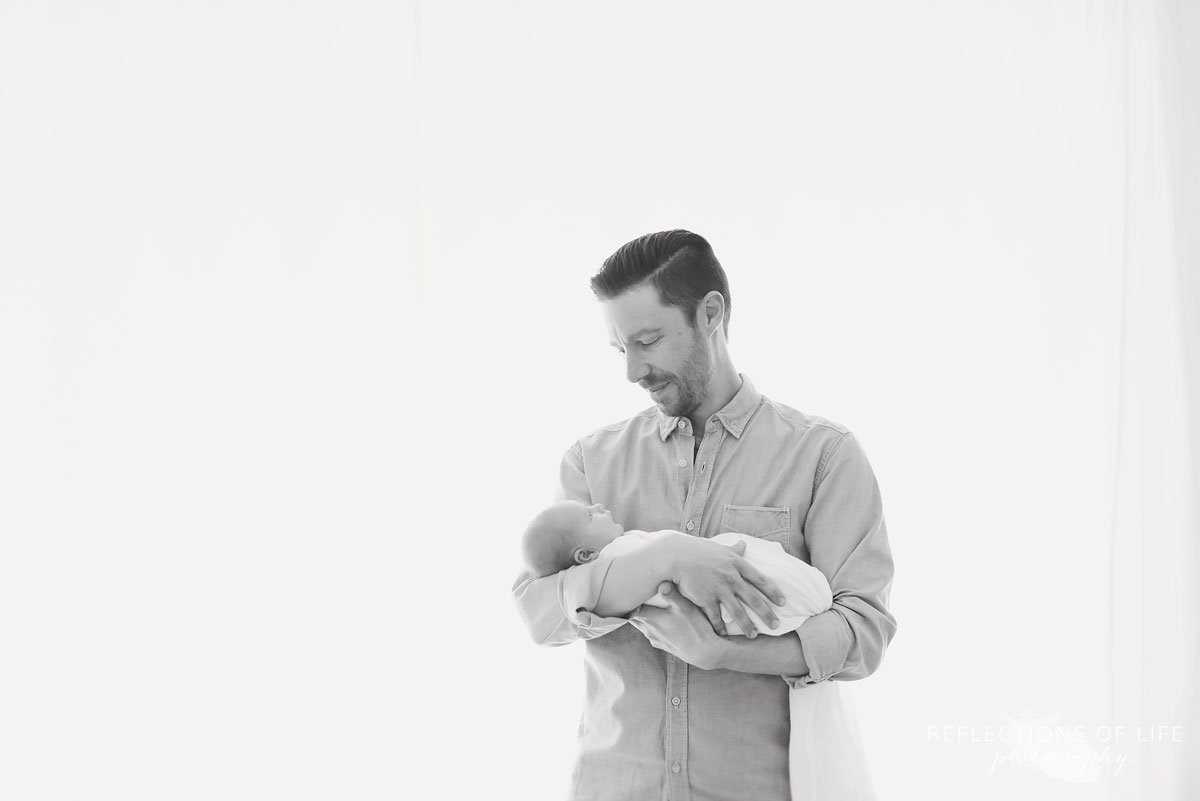Niagara Ontario Newborn and Daddy Photography
