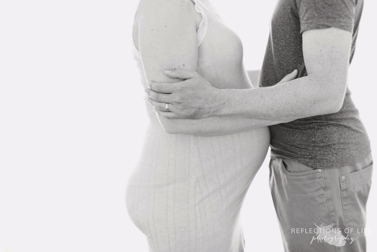 Couples Maternity Photography by Karen Byker Grimsby Ontario Canada