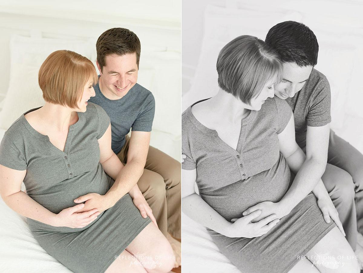 Couples Maternity Photography in the Niagara Region of Ontario Canada