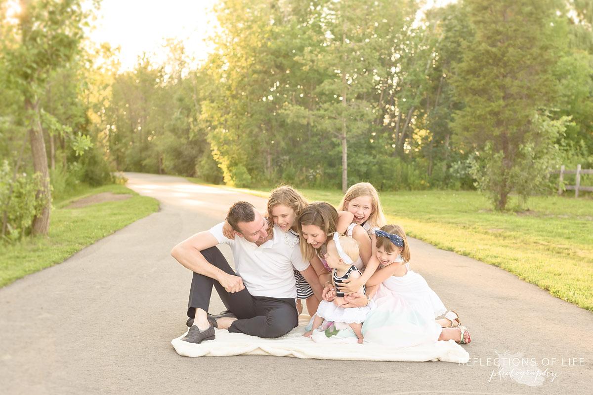 004 Family Photos in the park Grimsby Ontario
